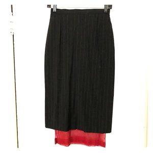 Dolce & Gabbana wool pencil skirt